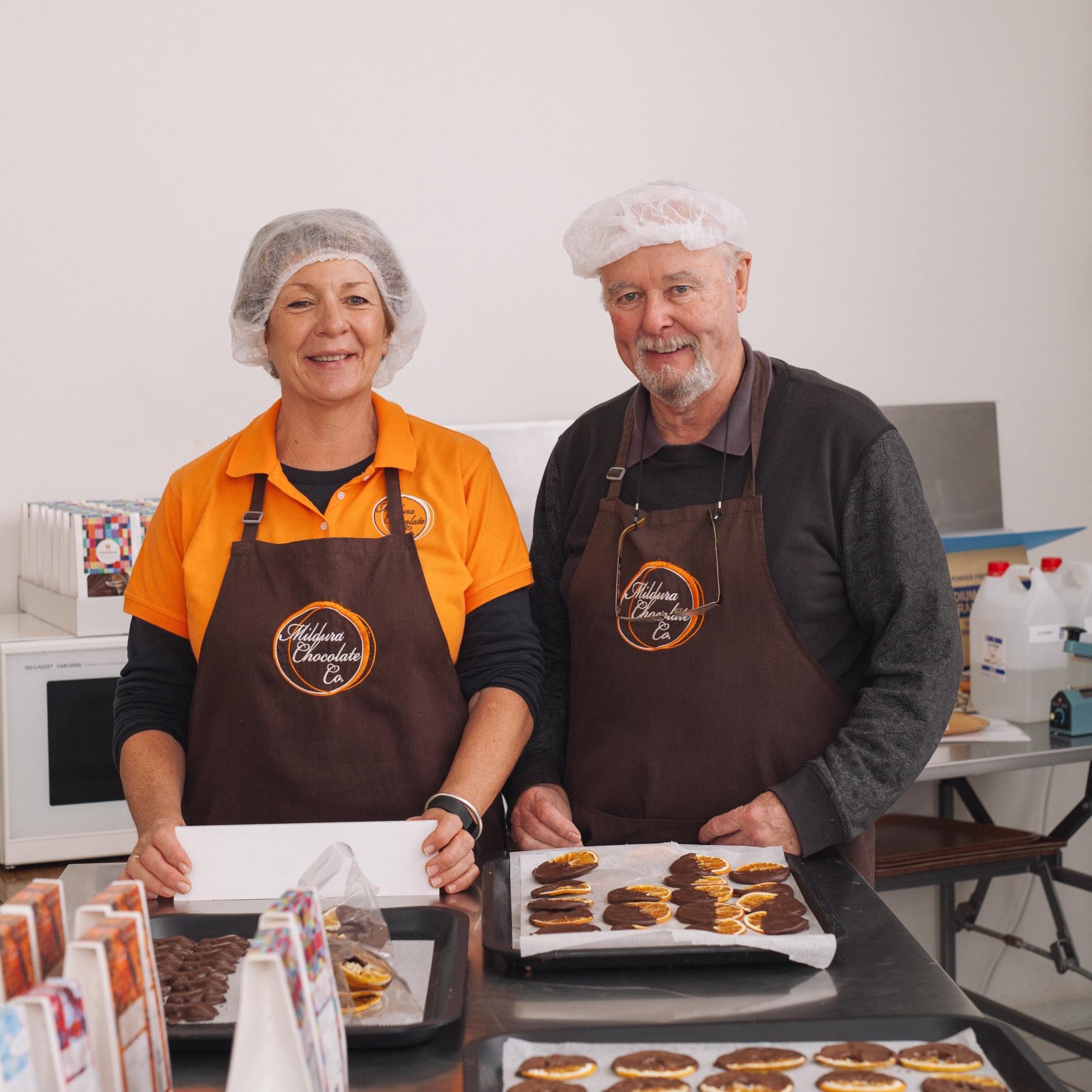 Mildura Chocolate Company are a chocolate manufacturing co-op in Mildura, Victoria