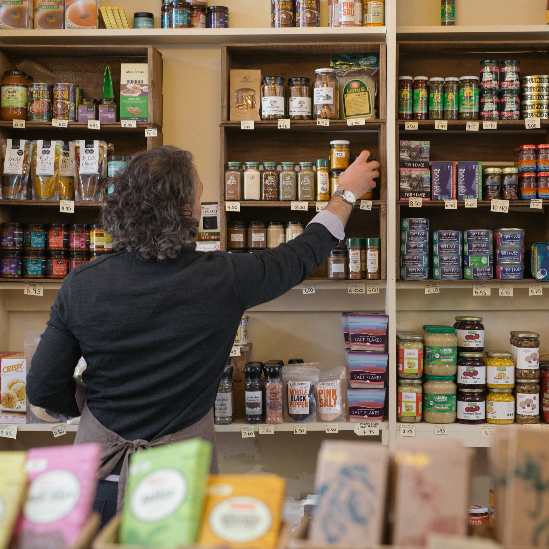 The Common Good Store is a boutique grocer in Hawthorn, Victoria