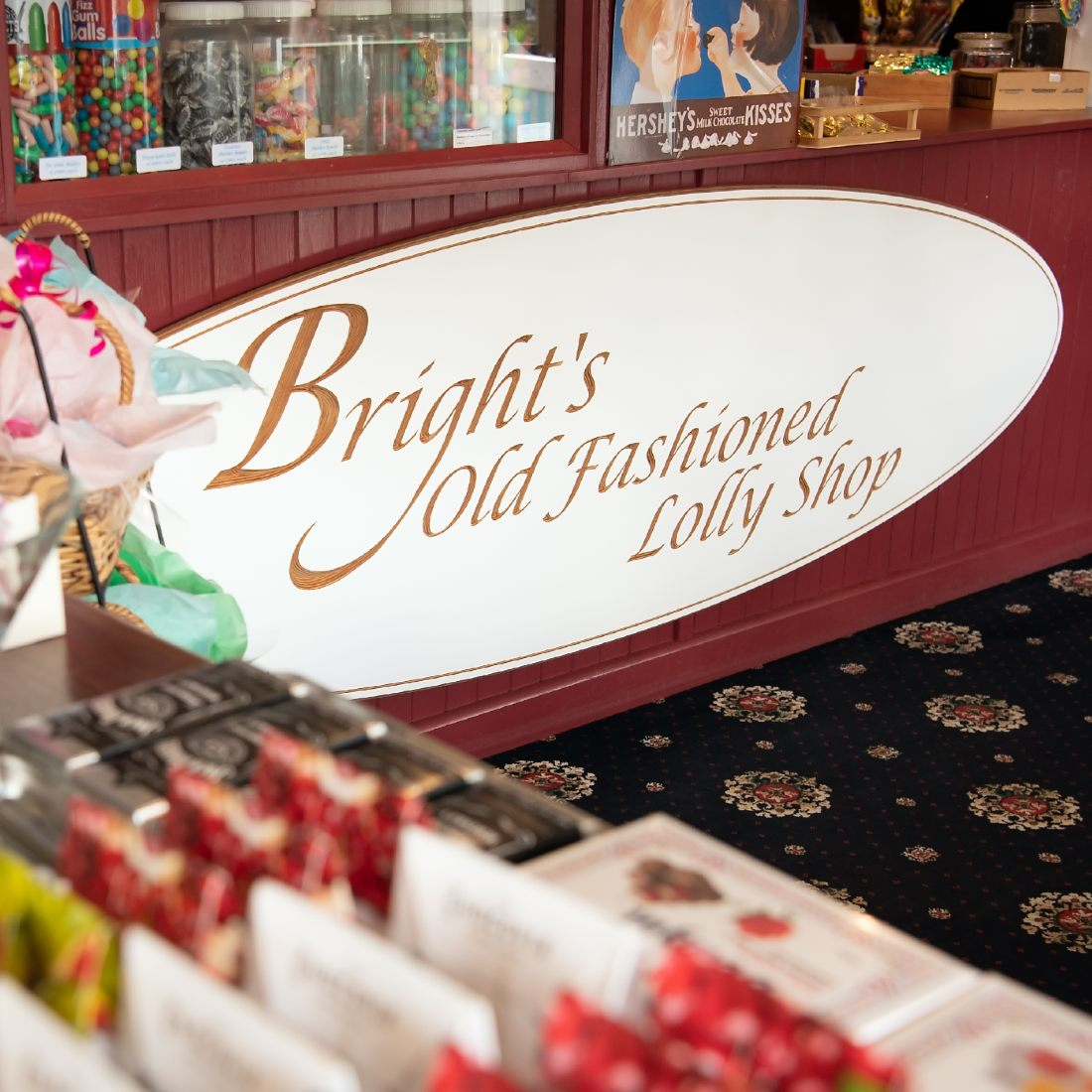 Bright's Old Fashioned Lolly Store candies