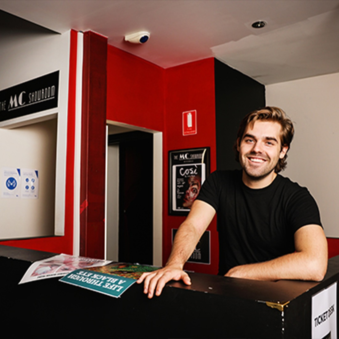 Alex Moffat and his primary role in our business is in the venue operations