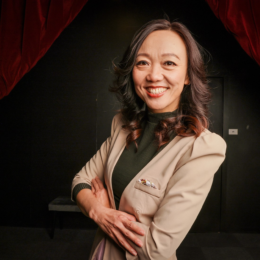 Picture of Miao, theatre owner/producer