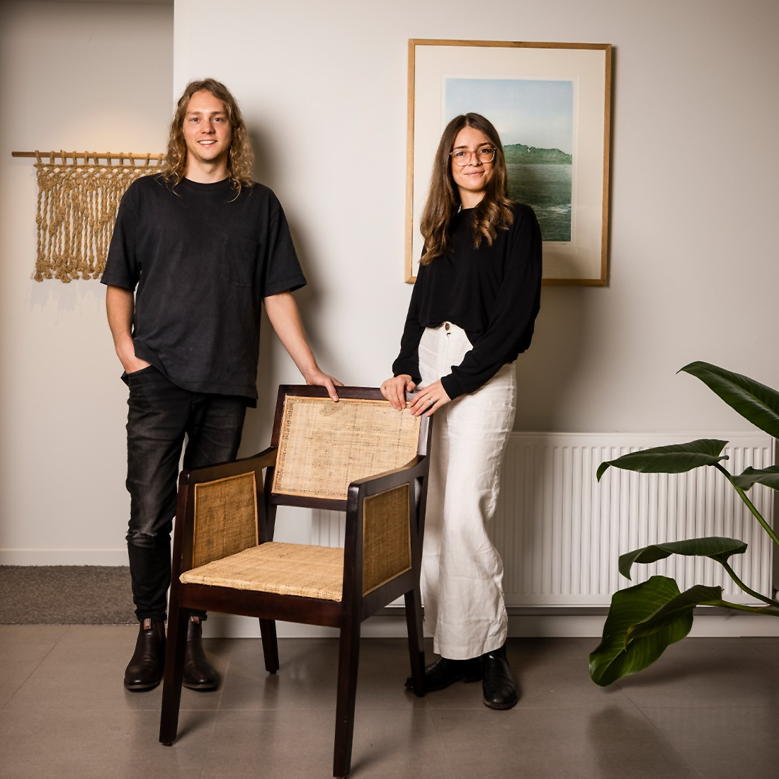 Phoebe Simpson and Tom Simpson. the owners of Hosea